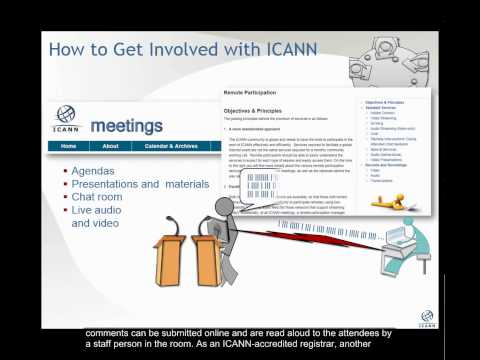 How to get involved with ICANN