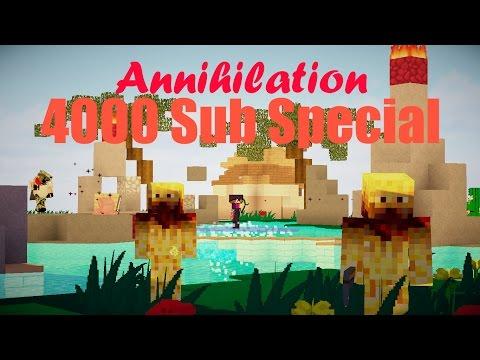 Annihilation - The long-awaited 4000 Sub Special (Shotbow - Minecraft)