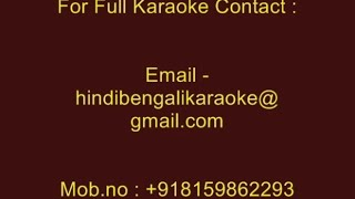 Deewane Hoke Hum Milne Lage Sanam - Karaoke - Jaan (2000) - Sonu Nigam