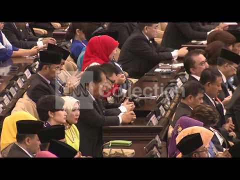 INDONESIA: JOKO WIDODO SWORN IN AS PRESIDENT