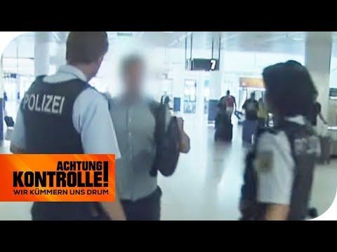 Alarm im Flughafen: Mann begeht krassen Sicherheitsverstoß! | Achtung Kontrolle | kabel eins