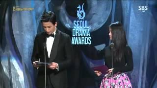 """Ju Hwan At """"Seoul International Drama Awards"""" (140904)"""