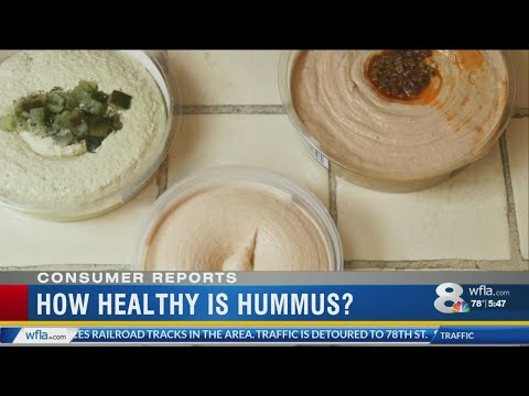 Consumer Reports: Is hummus healthy?