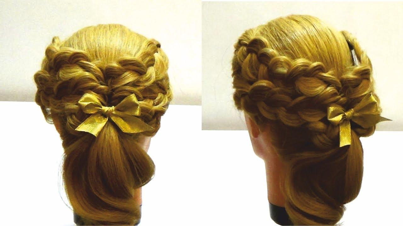 Ютуб видео мастер класс по плетению кос инструкция #3