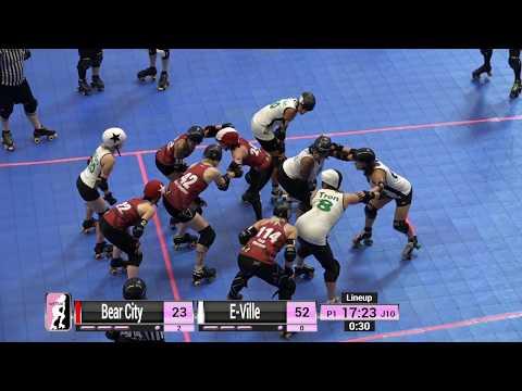 WFTDA Roller Derby - Division 2, Pittsburgh - Game 20 - E-Ville vs. Bear City