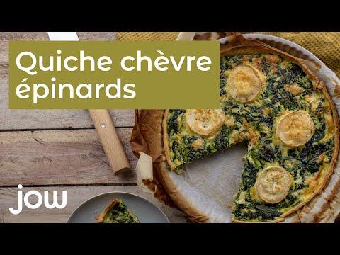 recette-de-la-quiche-chèvre-épinards