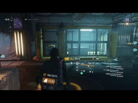 Tom Clancy The Division: Times Square Power Replay Legendary 1st run