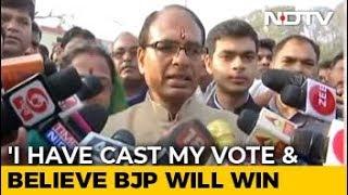 Shivraj Singh Chouhan Says Confident Of Win In Madhya Pradesh