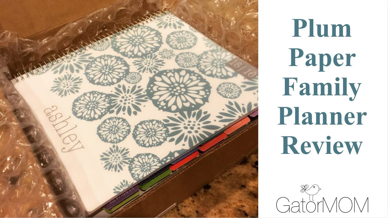 plum paper family planner review how it compares to the erin