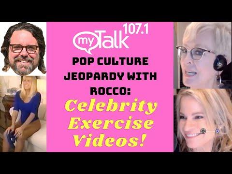 Pop Culture Jeopardy: Celebrity Exercise Videos!