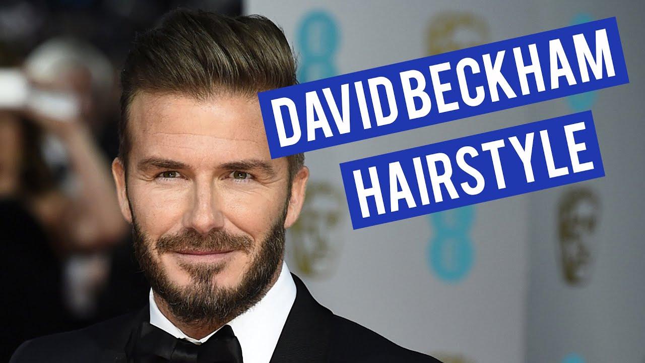 David Beckham Star Wax Clay Review Mens Hairstyle Tutorial - Beckham undercut hairstyle
