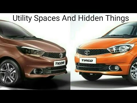 Tata Tiago & Tigor | Utility Spaces and Hidden Things