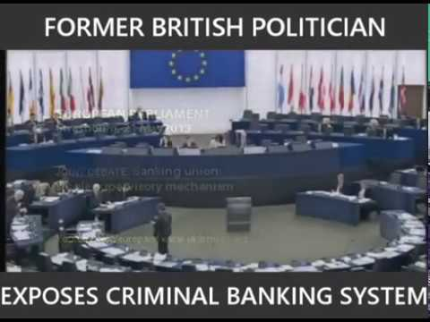 Anonymous -  British Politician Exposes The Central Bank Scam