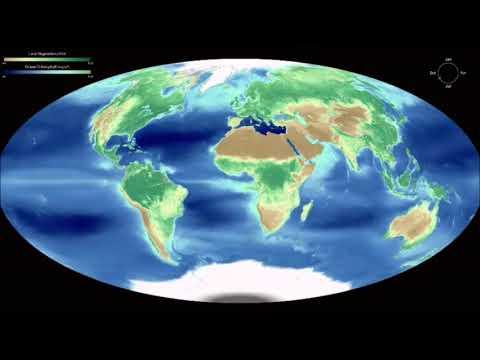 Посмотрите как меняется вид Земли из космоса в разные времена года. NASA показало вид Земли.