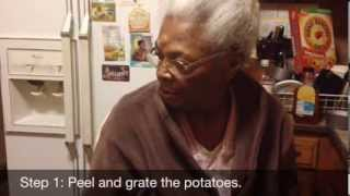 Gram's Jamaican Sweet Potato Pudding Recipe (Pone)