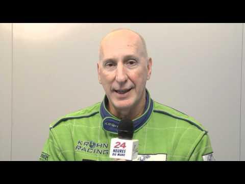 24 Heures du Mans 2011, interview de Tracy Krohn pilote de la Ferrari F430 n°57
