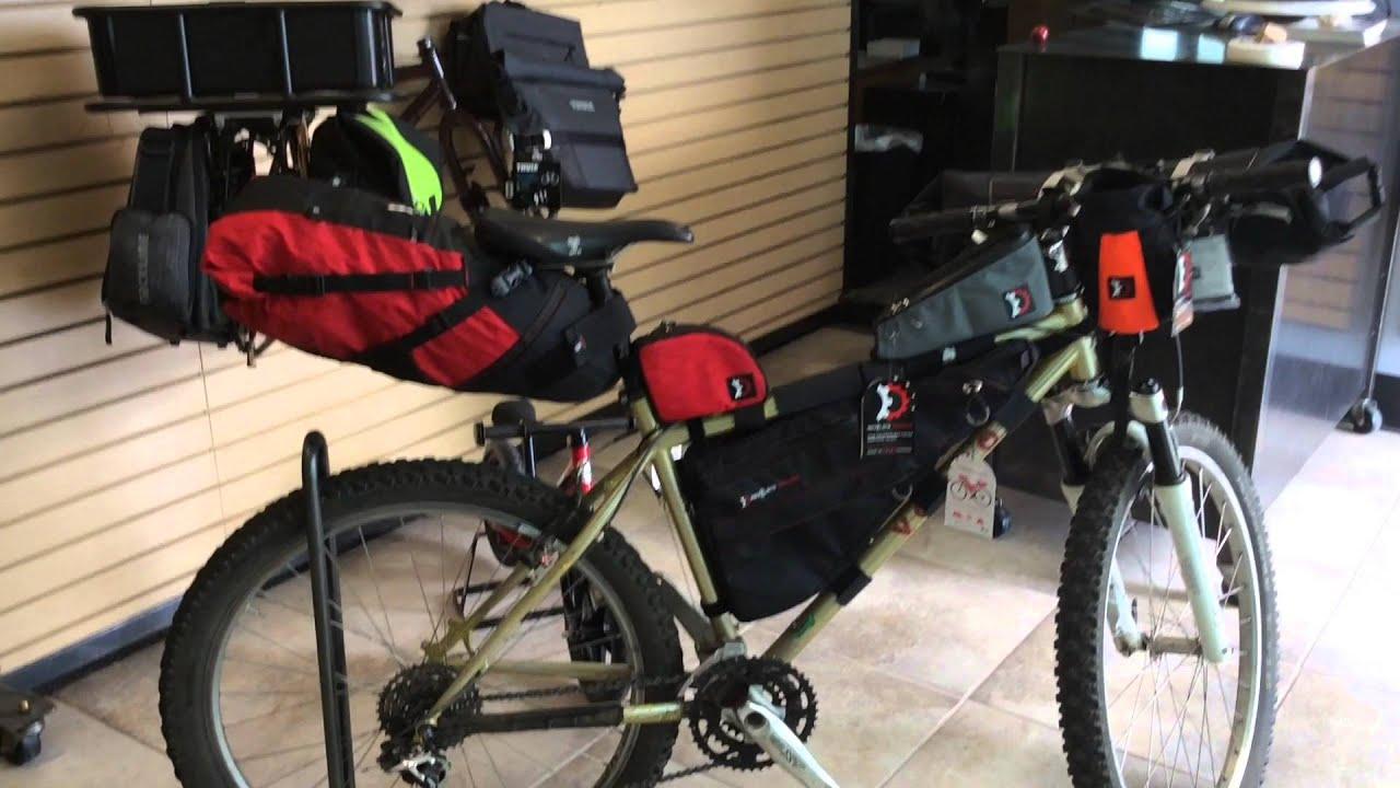 Bikepacking Frame Bags Youtube