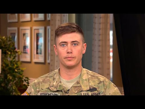 Transgender National Guardsman speaks out on Trump's ban