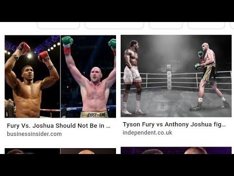 Boxing Anthony Joshua Says He Would Fight Tyson Fury,By Eric Pangilinan - Vlog