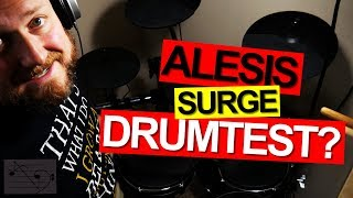 How loud is the Alesis Surge Mesh kit
