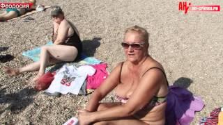 Проблемы пляжей в Феодосии