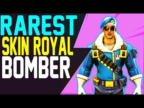 Fortnite How To Get ROYALE BOMBER Skin - RAREST FORTNITE SKIN PlayStation 4 Exclusive New Outfit