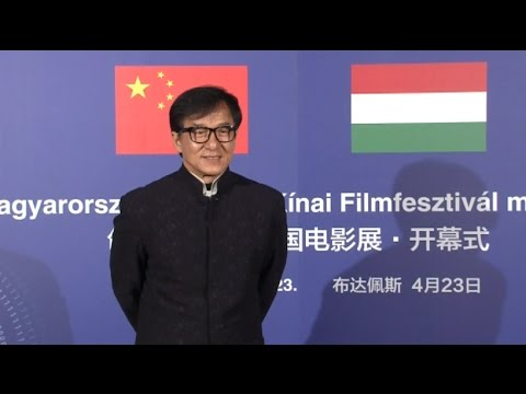 2017 04 25 / ASIA / North-Korea threat / Jackie Chan in Budapest