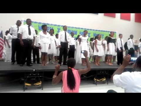 Sixthh graders at Madison James Elementary School