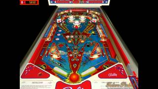 Six Million Dollar Man Virtual Pinball Machine on Future Pinball