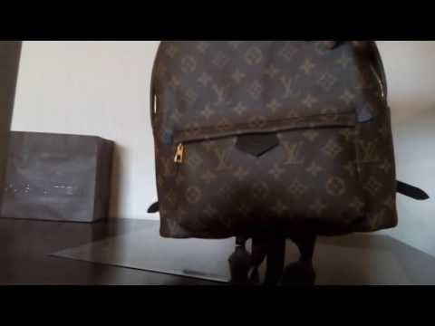 Authentic Louis Vuitton backpack Palmsprings MM for sale !