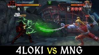 Alliance War: 4L0ki -vs- MNG | Season 6, War 5 | Marvel Contest of Champions