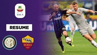 Résumé : L'Inter résiste à la Roma