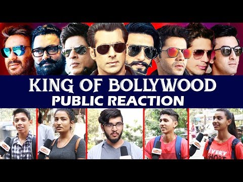कौन है Bollywood का असली KING - PUBLIC REACTION | Salman, Shahrukh, Aamir, Ajay, Akshay