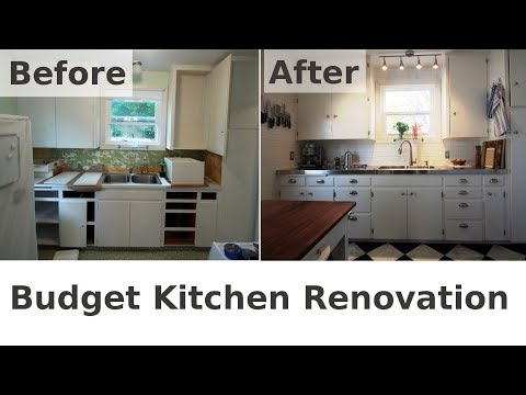 My Dramatic Kitchen Renovation Before After
