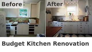 My Dramatic Kitchen Renovation - Before & After