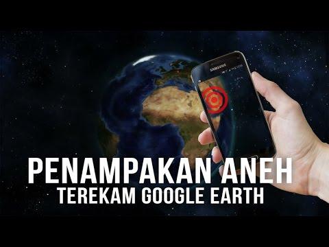 10 Penampakan Aneh dan Menyeramkan yang Tertangkap Google Earth