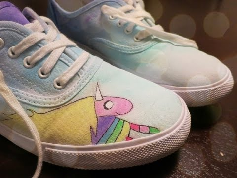 21ccc88b9d Lady Rainicorn Shoes - DIY GG - YouTube