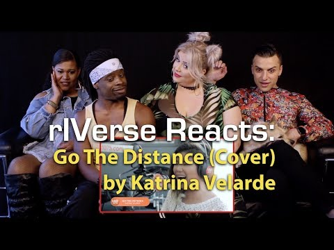 rIVerse Reacts: Go The Distance (Cover) by Katrina Velarde - LIVE (on Wish 107.5 Bus) Reaction