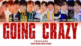 Download [NEW FORMATION] TREASURE - GOING CRAZY LYRICS VIDEO (HAN/ROM/ENG)
