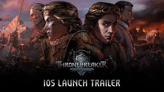 Thronebreaker: The Witcher Tales   iOS Launch Trailer