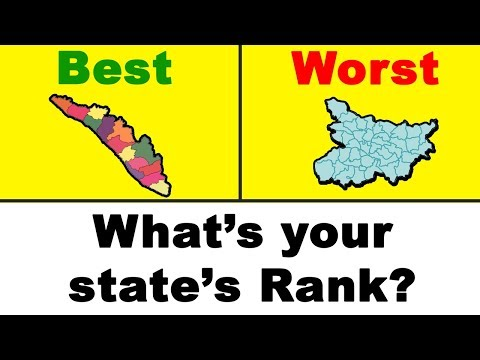 BEST & WORST Governed Indian States (2018)