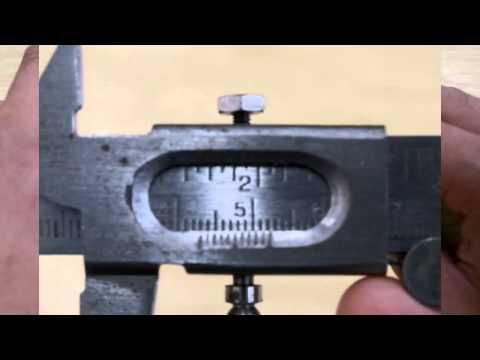 vernier caliper how to read mm