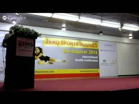 """Bio-Inquirer 2015 """"Zero Sports Injuries"""""""