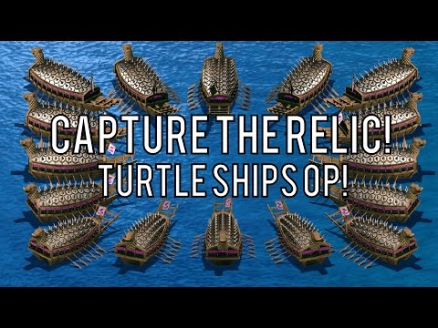 Capture the Relic - Turtle Ships OP!
