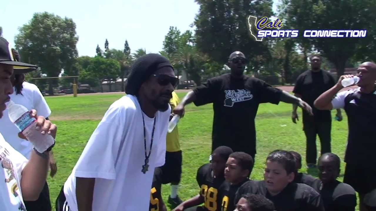 Coach Snoop post game pep talk - YouTube