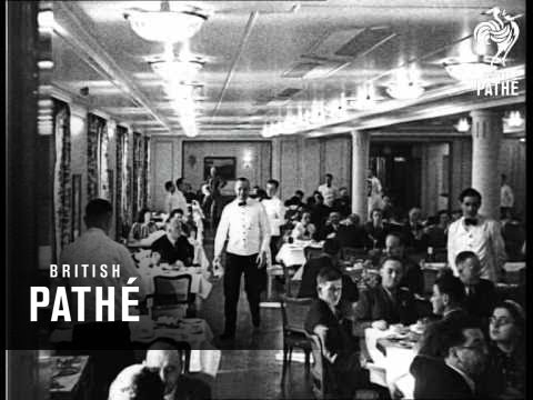 Robert Ley Aka Hitler Aboard The Robert Ley (1939)