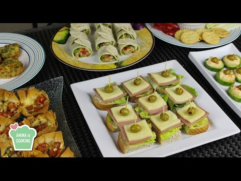 Finger Food Ideas/ Recipes – Episode 129 – Amina is Cooking