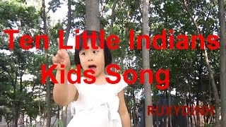 Ten Little Indians | Nursery Rhyme | Popular Number Nursery Rhymes For Children | nhac thieu nhi