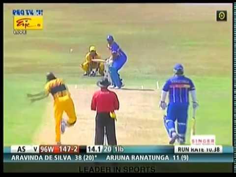 Aravinda De Silva-1996 Cricket World Cup champions back in action