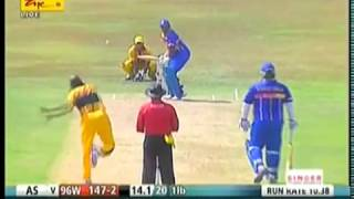 Aravinda De Silva-1996 Cricket World Cup champions back in action